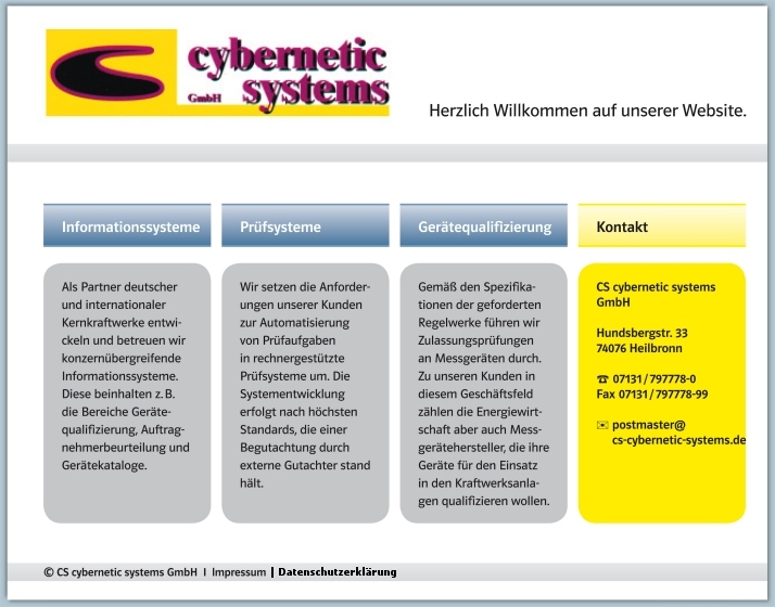 CS cybernetic systems GmbH